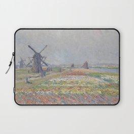 Tulip Fields near The Hague Laptop Sleeve