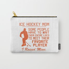 ICE HOCKEY MOM Carry-All Pouch