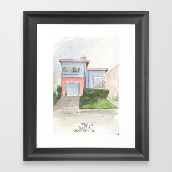 007.  Framed Art Print