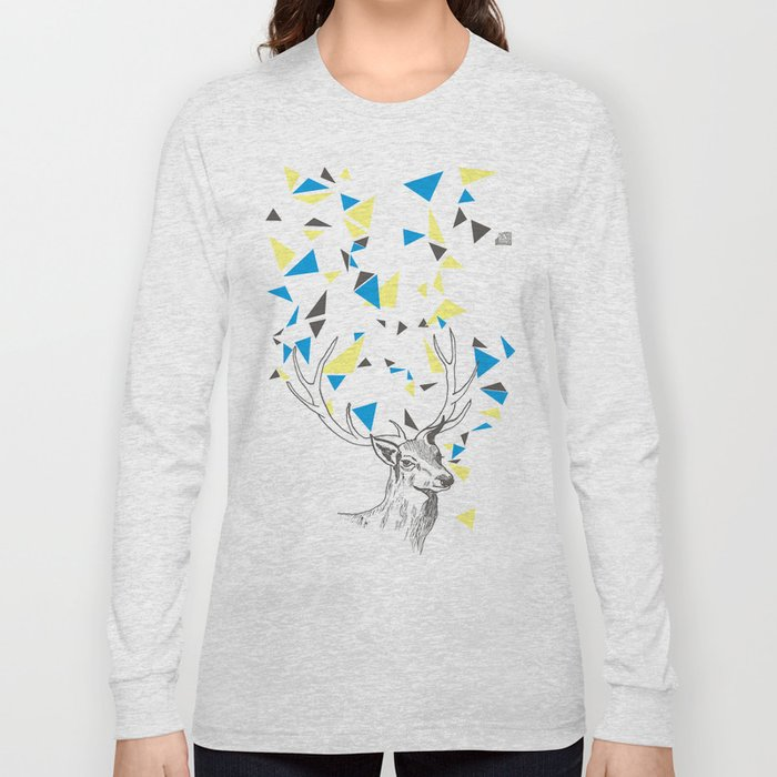 Rainbow Collection / deer Long Sleeve T-shirt
