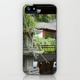 Chinese Gardens iPhone Case
