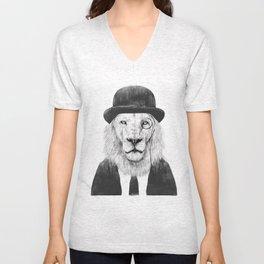 Sir lion Unisex V-Neck