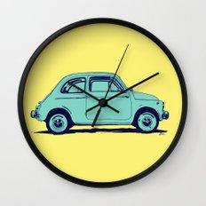 Fiat 500 Wall Clock