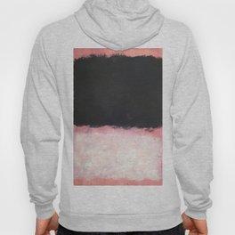 Mark Rothko - Untitled - Pink and Black Artwork Hoody
