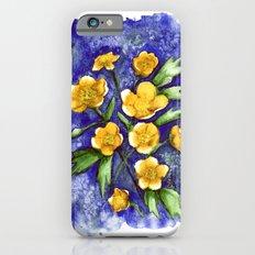 Marsh Marigolds iPhone 6s Slim Case