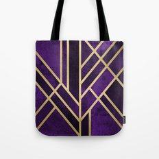 Art Deco Royal Tote Bag