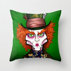 Hatter Throw Pillow
