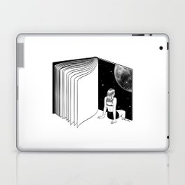 Reading is Dreaming with Your Eyes Open Laptop & iPad Skin