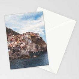 Cinque Terre, five lands, Manarola, Liguria, italian landscape, Italy love, UNESCO site, cliff village, sea villages Stationery Cards