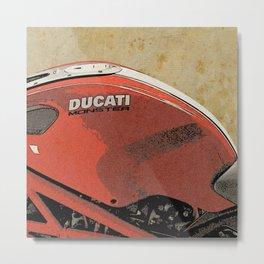 Ducati Monster Metal Print
