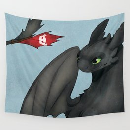 Toothless Wall Tapestry
