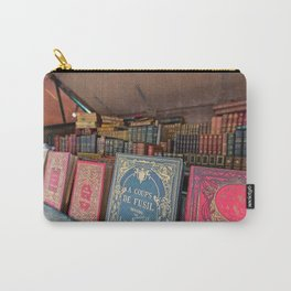 Books Along the Seine - Paris, France Carry-All Pouch