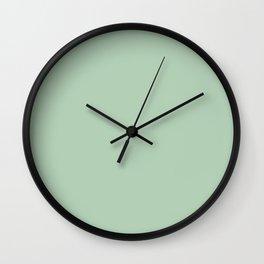 Simply Pastel Cactus Green Wall Clock