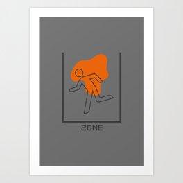 PAUSE – Kill Zone Art Print