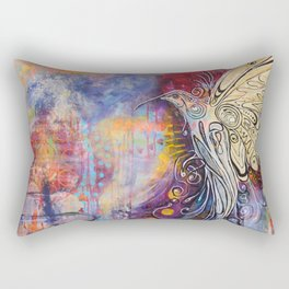 Rising from the Ashes Rectangular Pillow