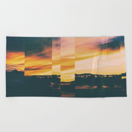 Fractions A54 Beach Towel