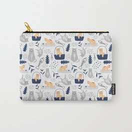 Botanical Cats Carry-All Pouch