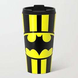 Bat Man Classic Metal Travel Mug