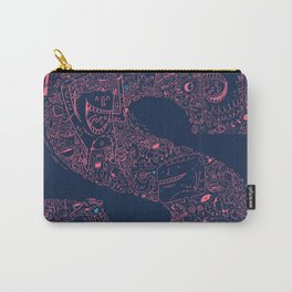 Monster Doodle Carry-All Pouch