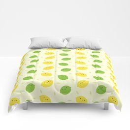 Kawaii Lemons & Limes Comforters