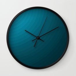 Faded Light Wall Clock