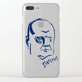 Jean Sibelius (2) Clear iPhone Case