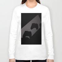 xbox Long Sleeve T-shirts featuring Xbox One Controller Silhouette by HarasiElite
