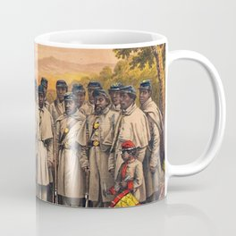 1863 Philadelphia, Pennsylvania African American Civil War Requirement Broadside Advertisement Poste Coffee Mug
