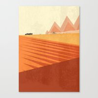 mad max Canvas Prints featuring MAD MAX by Oliver Averill