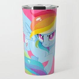 rainbow power Travel Mug