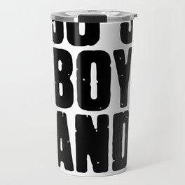 90's Boy Band Travel Mug