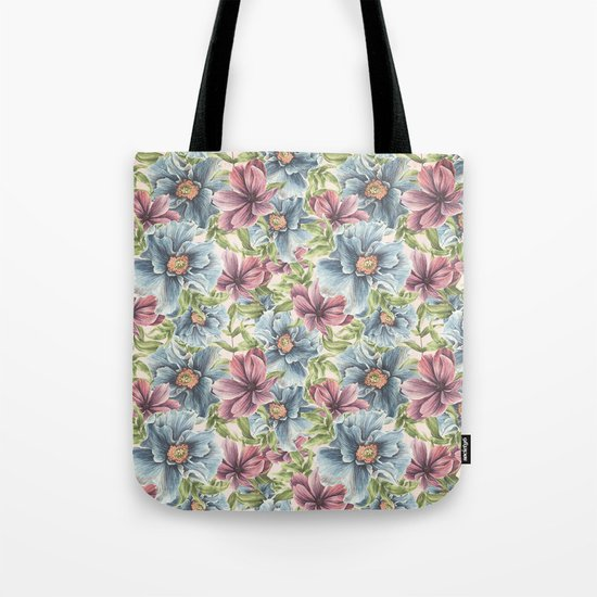 Hibiscus Vintage Pattern by lavieclaire