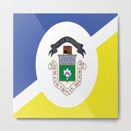 flag of winnipeg Metal Print