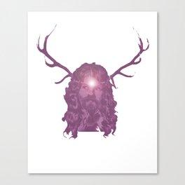 Crystal Antlers Canvas Print