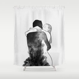 I am the luckiest to have you. Shower Curtain