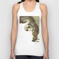 daenerys Tank Tops featuring The Serpent Mother by Luis Uzcategui