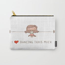 I love dancing girl Carry-All Pouch