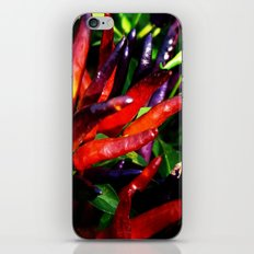 Rainbow Peppers iPhone & iPod Skin
