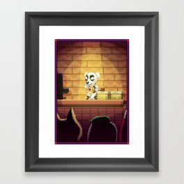 Pixel Art series 1 : Little Song Framed Art Print