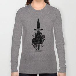 Heart-Dagger Long Sleeve T-shirt
