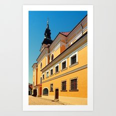 The village church of Hofkirchen / Mkr I | architectural photography Art Print