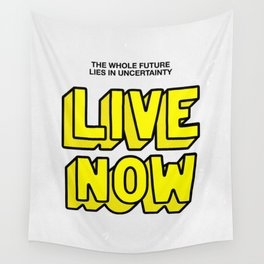 The Future: Live Now Wall Tapestry