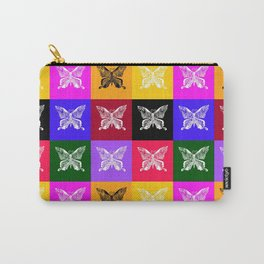 Butterfly drawings- if you look carefully, you'll find the hummingbirds that I drew in their wings Carry-All Pouch