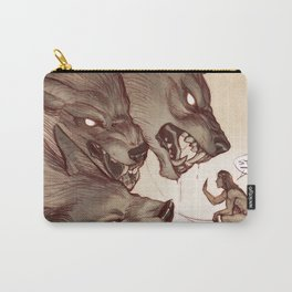Taking the Dog for a Walk Carry-All Pouch