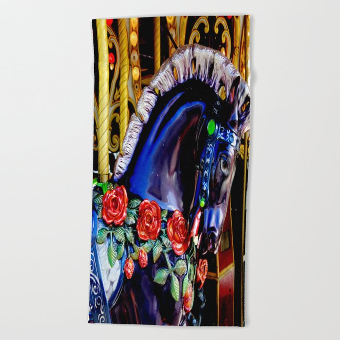 Carousel Beach Towel