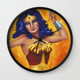 Princess Diana of Themyscira Wall Clock