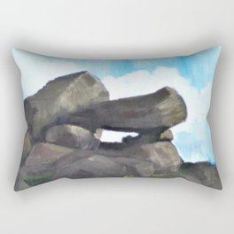 Study of Rocks Rectangular Pillow