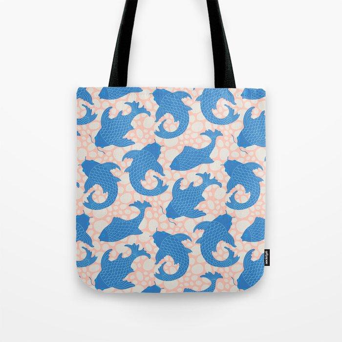 KOI Pattern Tote Bag