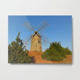 Wind Mill Metal Print