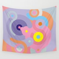 baroque Wall Tapestries featuring Modern Baroque by Stop::mashina ~SharenBob
